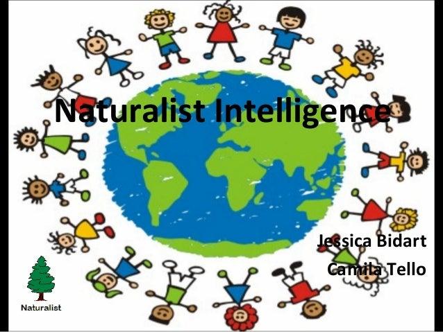 Naturalist Intelligence Jessica Bidart Camila Tello