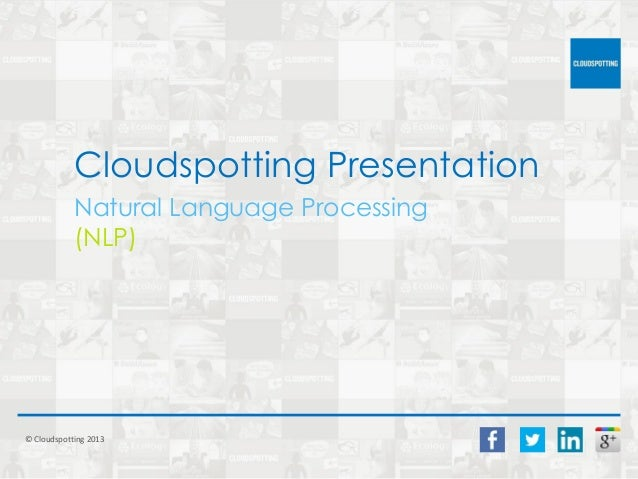 Natural Language Processing (NLP), Search and Wearable Technology
