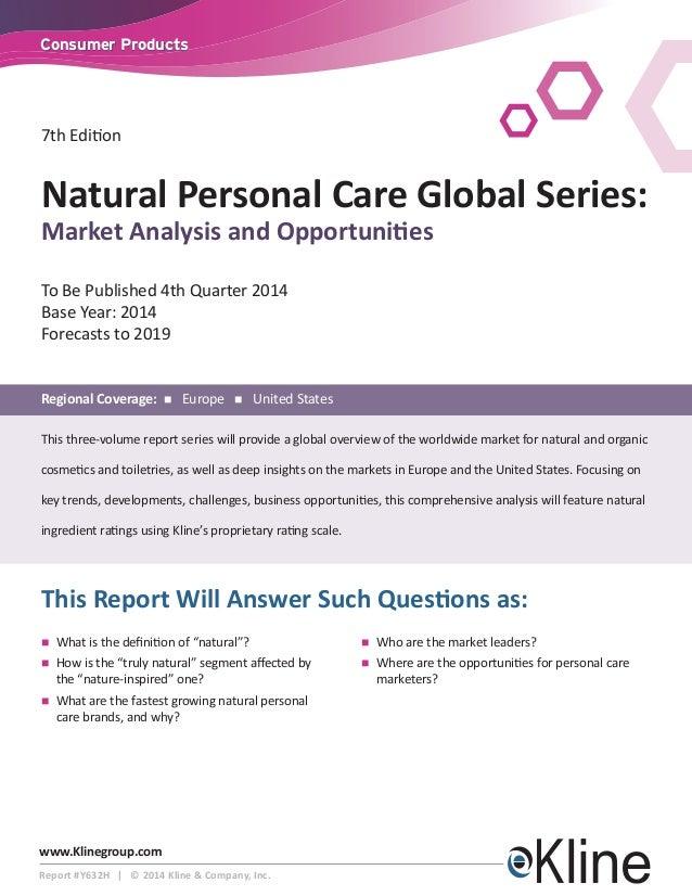 Natural Personal Care Global Series: Natural Personal Care Global Series Brochure