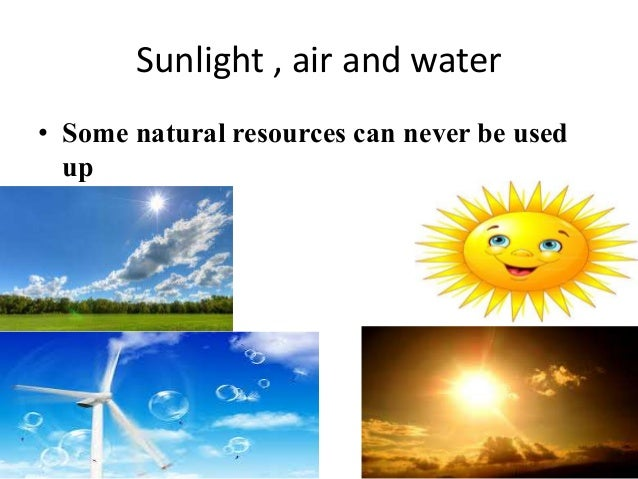 Natural Resources Lesson