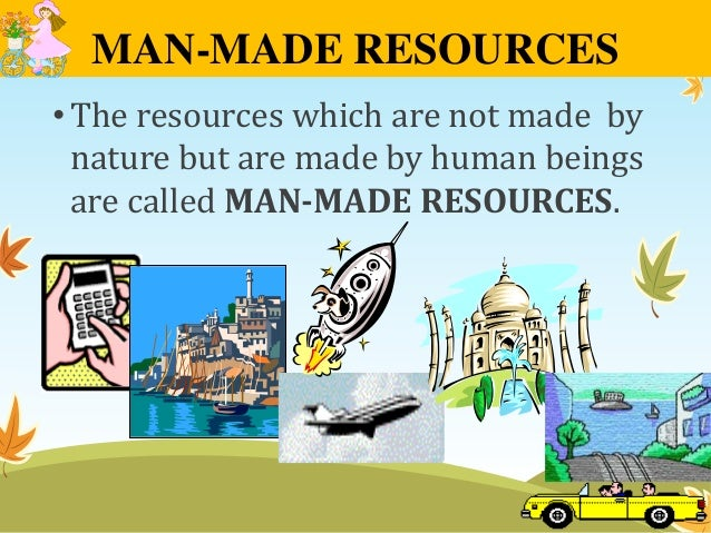 Man And Natural Resources