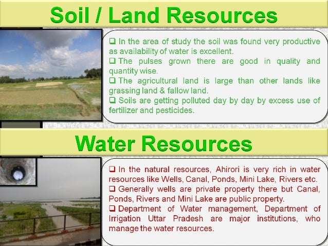 Natural resources final ppt for Soil resources definition