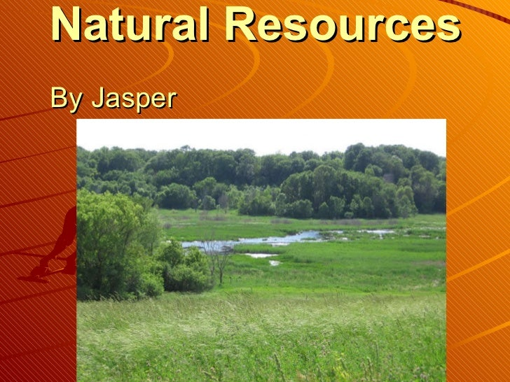 Natural Resources   By Jasper
