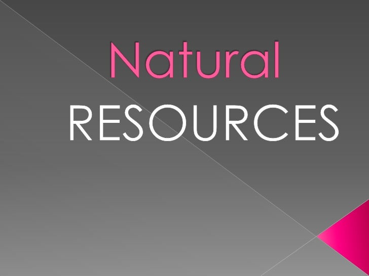 Naturalresouseswater 100529170048-phpapp02