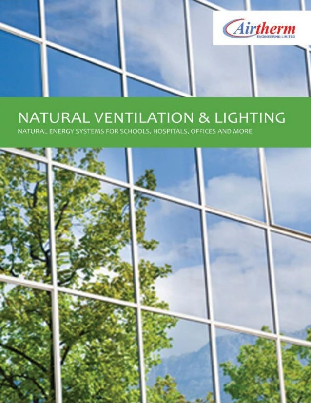Natural Ventilation Brochure 2014