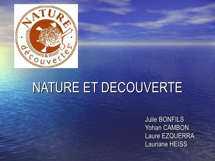 Nature et decouverte - Cuisine nature et decouverte ...