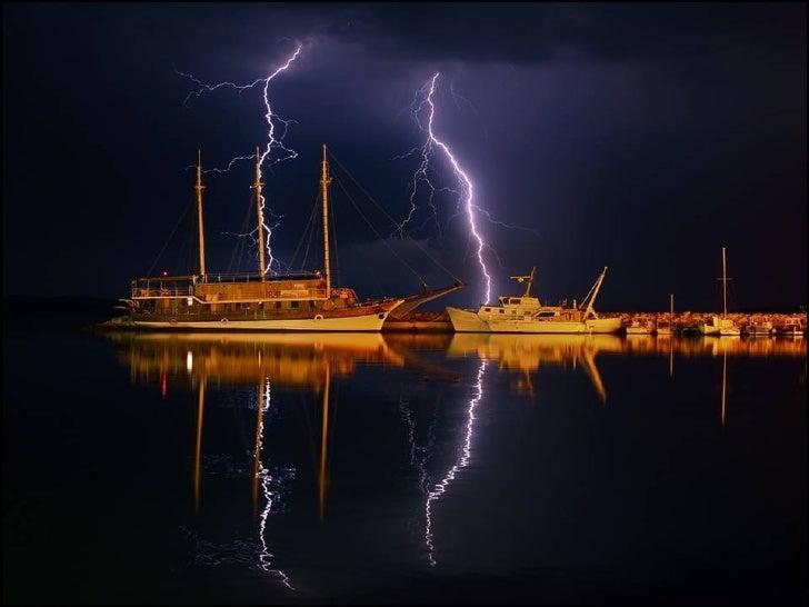 Nature's lighting - lightning
