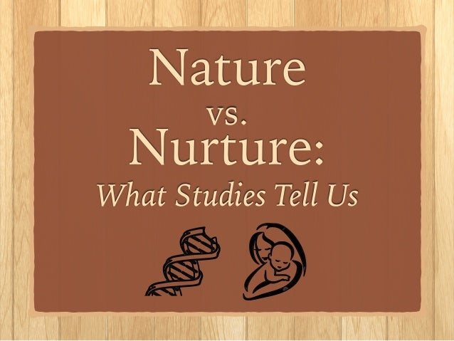 nature nurture paper term vs