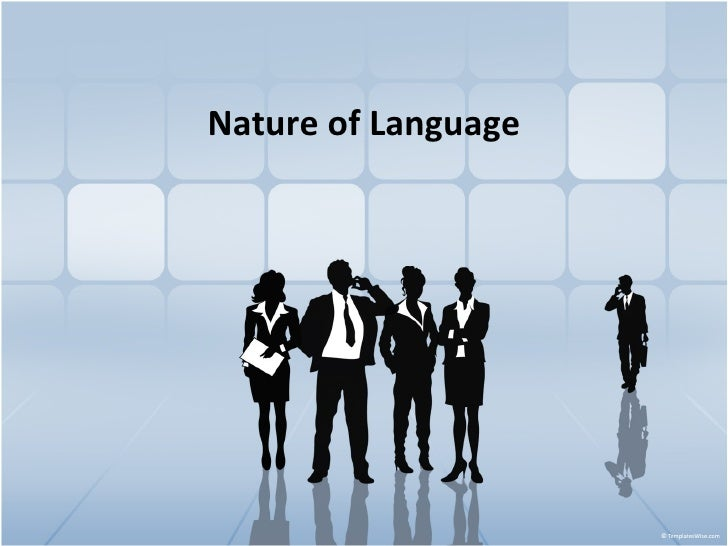 Nature of Language