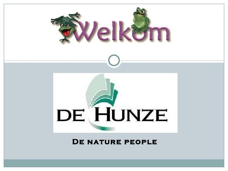 De nature people