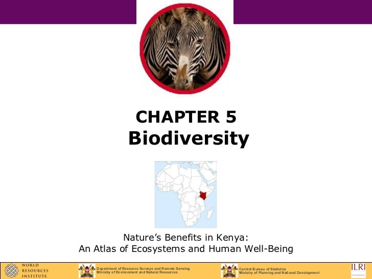 CHAPTER 5   Biodiversity Nature's Benefits in Kenya: An Atlas of Ecosystems and Human Well-Being