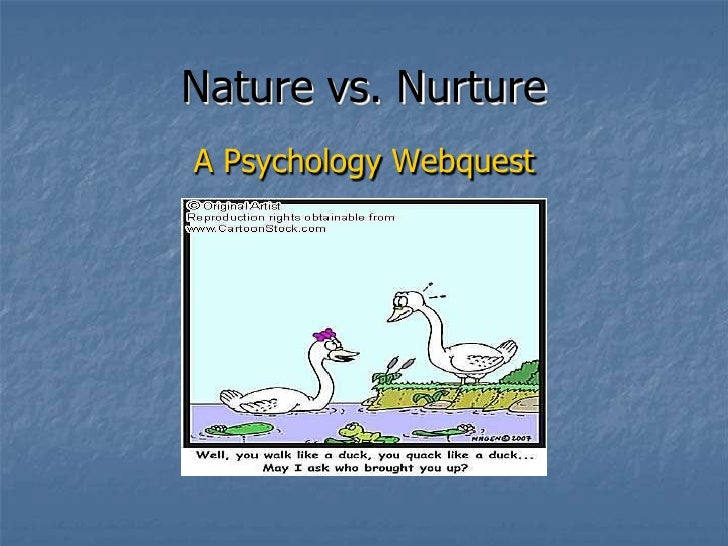 "nature vs nurture debate on homosexuality Homosexuality - nature or nurture hardly, the ""nature vs nurture"" debate animal studies have discovered clues to the nature of homosexuality."