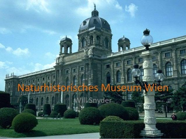 Naturhistorisches Museum WienWill Snyder