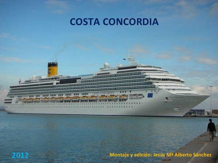 Naufragio del costa concordia 13 01-2012