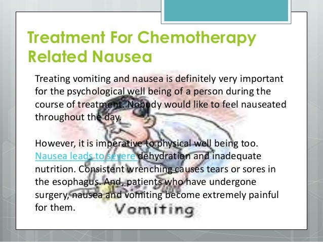 Chemo nausea medication side effects vagina with