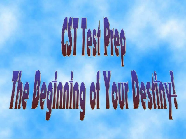 Topic = CST Test SkillsCST Test Tips   • Commonly Asked Questions                • More Commonly Asked                  Qu...