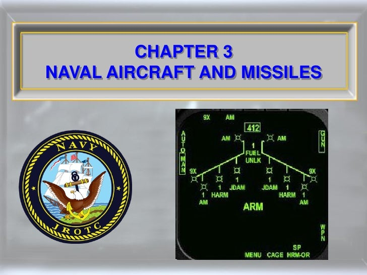 CHAPTER 3 NAVAL AIRCRAFT AND MISSILES