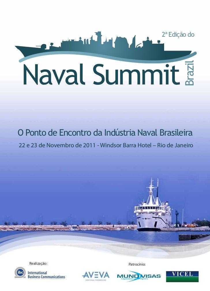 2ª Edição do Naval Summit                                                              BrazilO Ponto de Encontro da Indúst...
