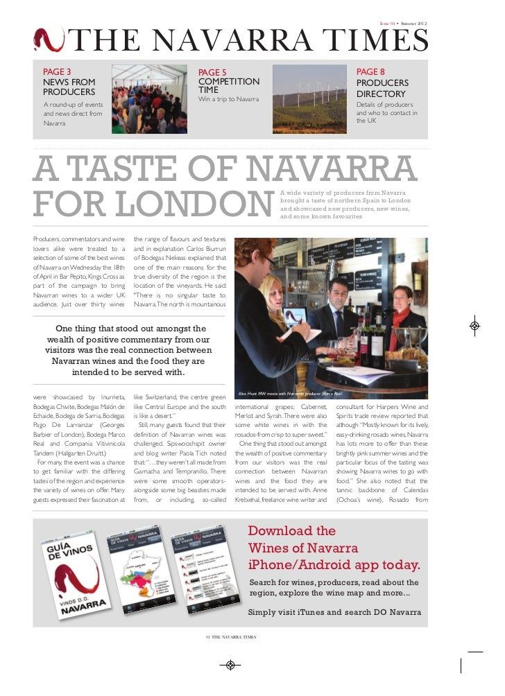Navarra Summer Times 2012_Layout 1 01/08/2012 16:31 Page 1                                                                ...