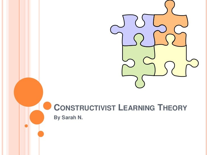the learning theory of constructivism As a result, various constructivist theories such as social constructivism, situated learning, and connectivism (sharples et al, 2005), have become the foundation for the majority of teaching methods that have taken hold in recent years (eg, problem-based learning, authentic instruction, computer supported collaborative learning.