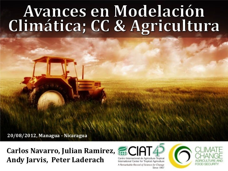20/08/2012, Managua - NicaraguaCarlos Navarro, Julian Ramirez,Andy Jarvis, Peter Laderach