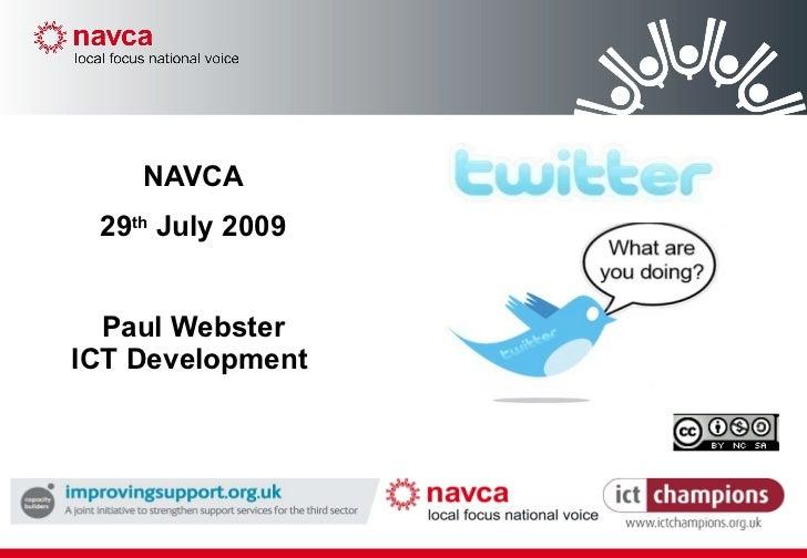 Navca Twitter