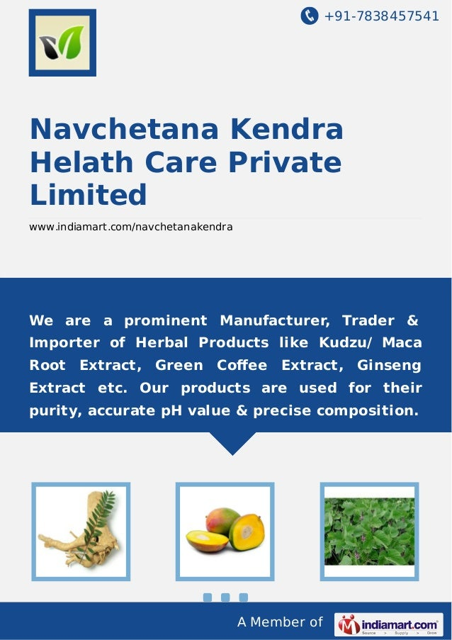 +91-7838457541  Navchetana Kendra Helath Care Private Limited www.indiamart.com/navchetanakendra  We are a prominent Manuf...