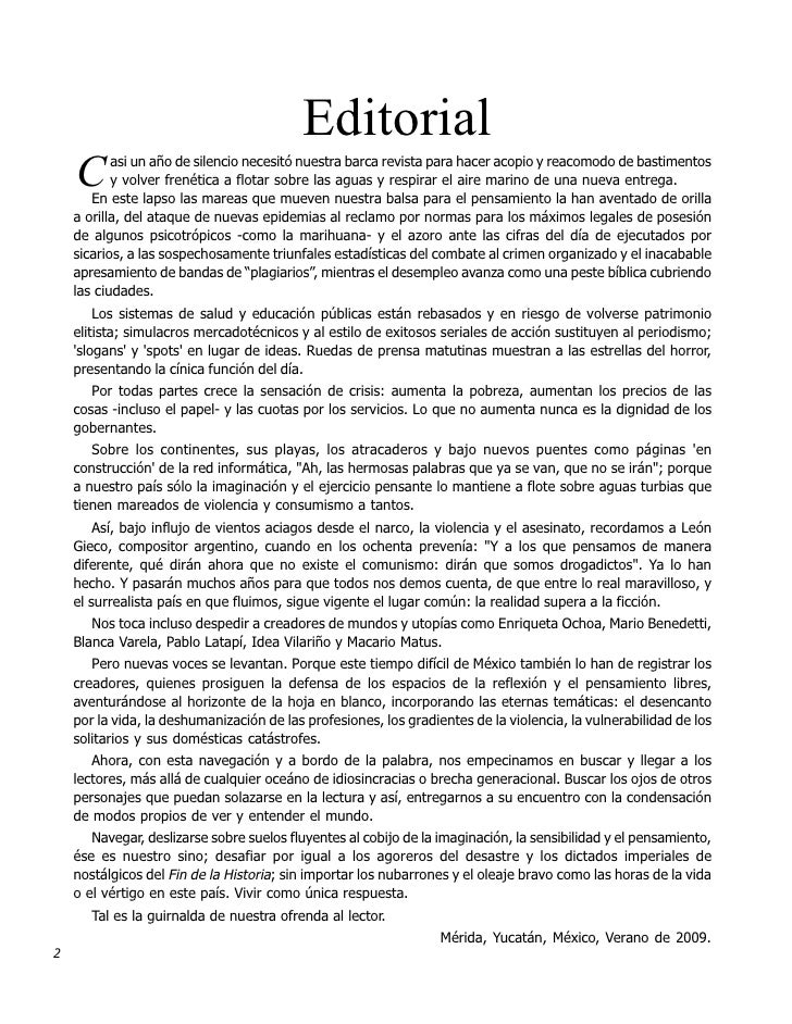 Navegacionez zur 54 55 for Ejemplo de editorial de un periodico mural