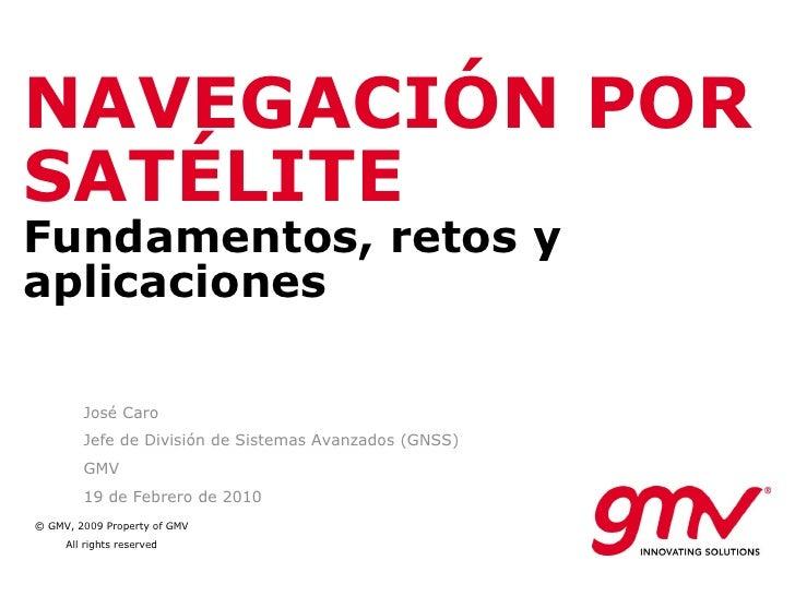 Navegacion por Satelite