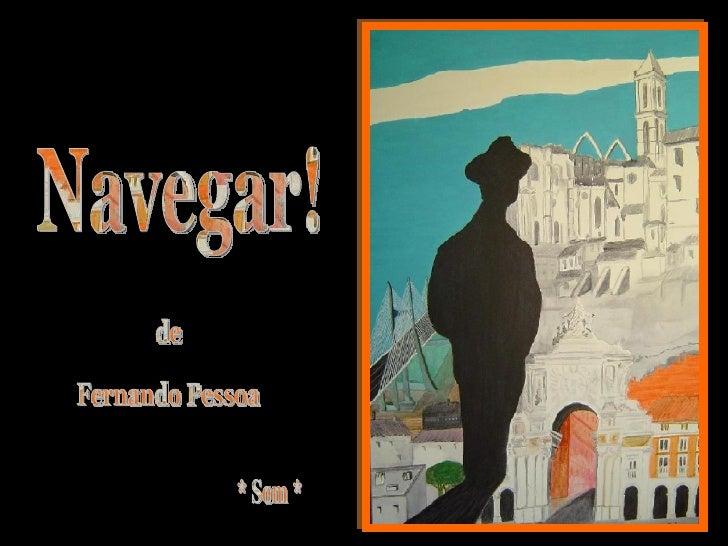 Navegar, Fernando Pessoa