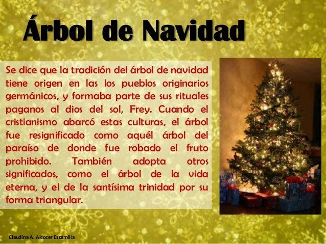 El significado de la navidad for Cuando se pone el arbol de navidad