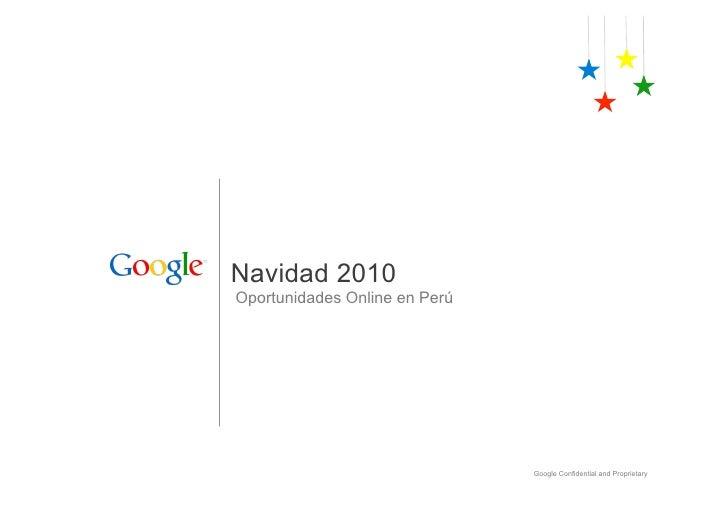 Navidad 2010   oportunidades online en perú
