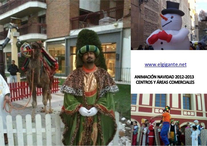 Navidad 2012 2013 centros y areas comerciales