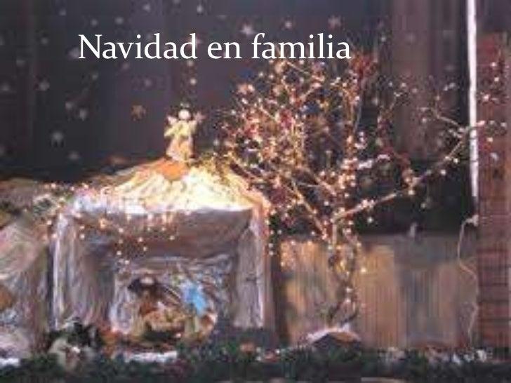 Navidad en familia         LA NAVIDAD