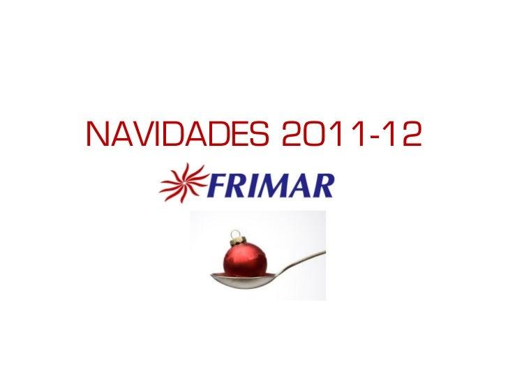 NAVIDADES 2011-12