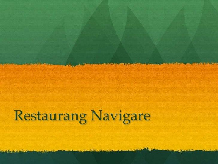 Restaurang Navigare