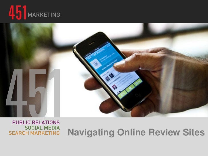 Navigating Online Review Sites 3.29.12