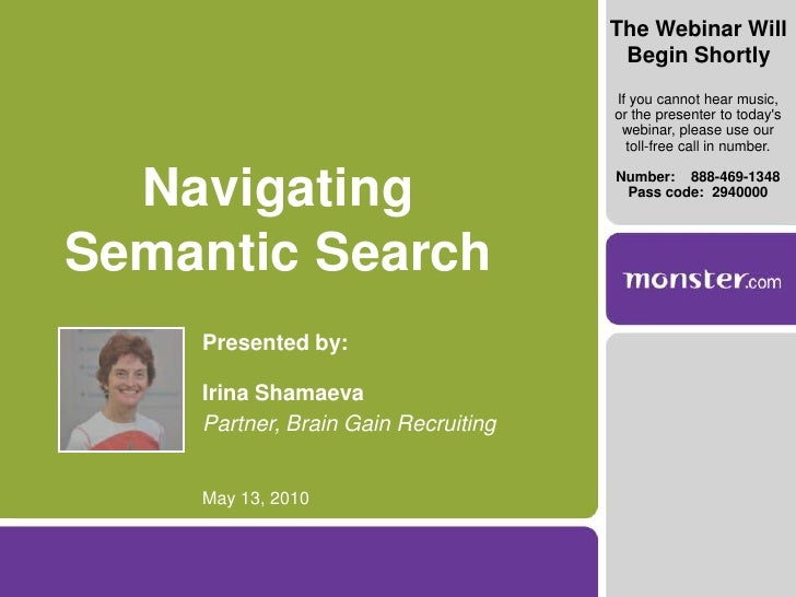 Navigating Semantic Search