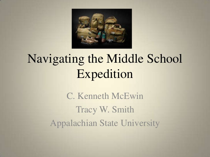Navigating the middle school expedition