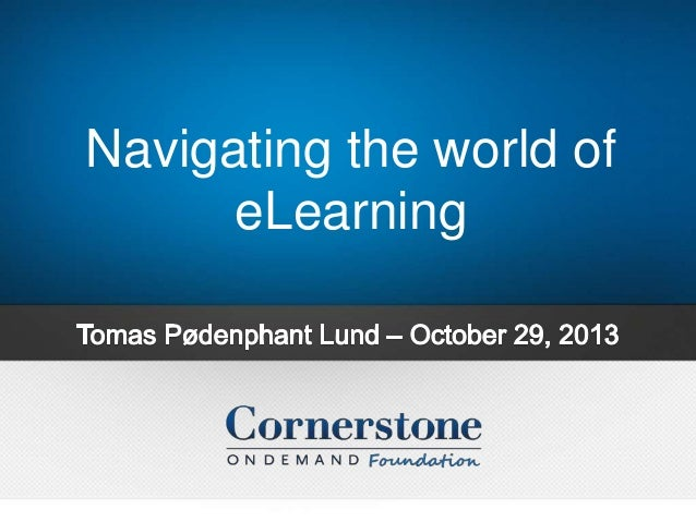Navigating the world of eLearning