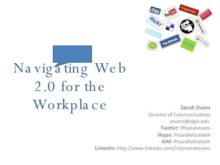 Navigating Web 2.0 Ppt