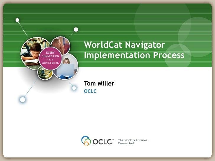 Navigator Implementation