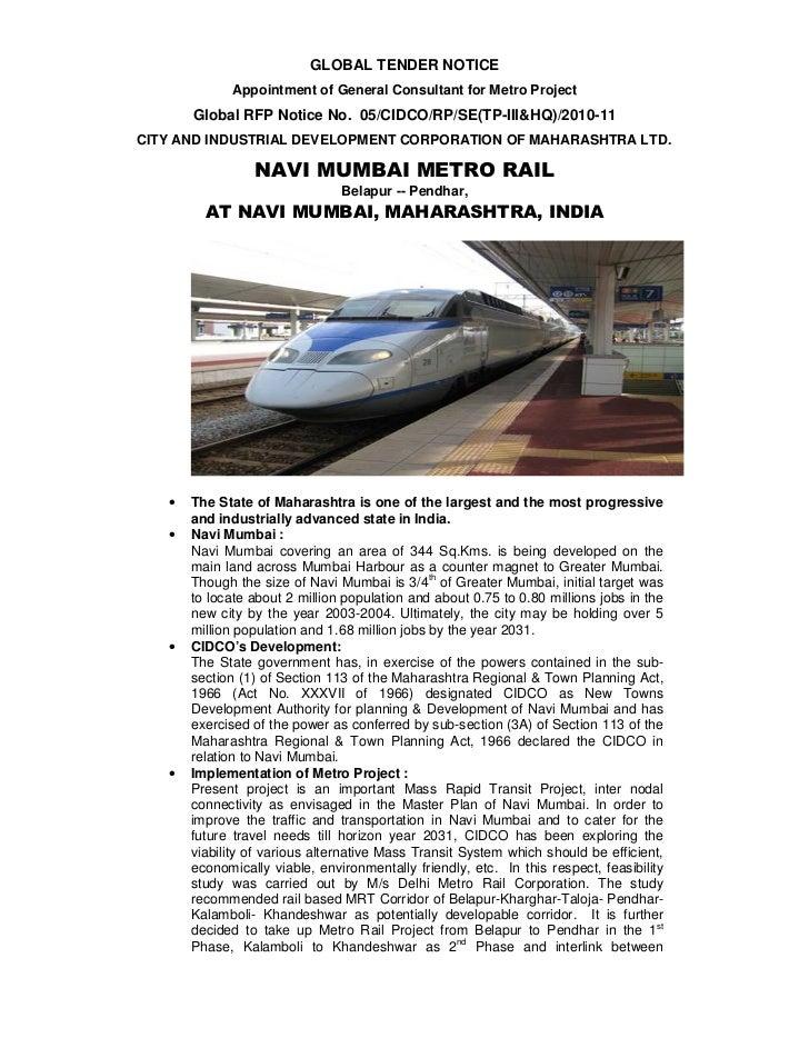 Navi mumbai metro new