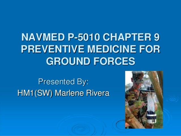 NAVMED P-5010, Manual of the Naval Preventive Medicine, Chapter 9