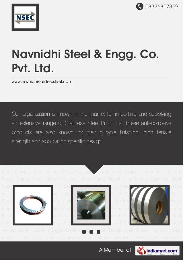 08376807859A Member ofNavnidhi Steel & Engg. Co.Pvt. Ltd.www.navnidhistainlesssteel.comBoiler Quality Flanges Boiler Quali...