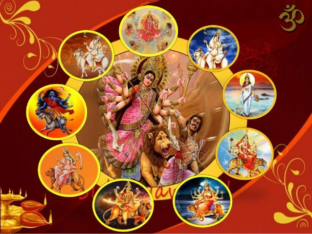 Latest Navratri Nine 9 Devi HD Wallpapers for Free Download