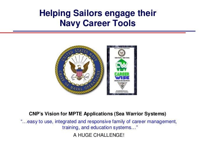 Navy Career Tools CCC Training (Navy Career Wise Training)