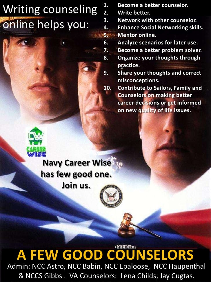 Navy Career Wise POSTER maker vertical