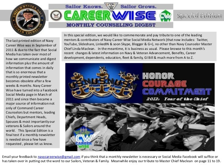 Navy career wise Special edition   nccm tribute