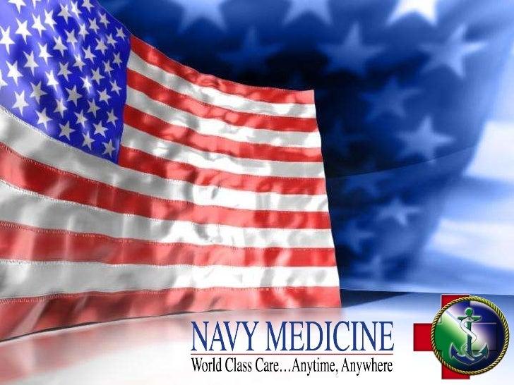 Overview of U.S. Navy Medicine